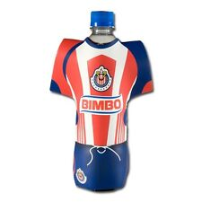 Chivas Mexico Soccer FMF Bottle Coozie-Official Licensed Product-Home Jersey