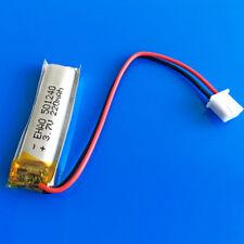 3.7V 220mAh BATTERIA RICARICABILE LI PO 501240 JST 2.5mm per Smart Watch MP3 MP4