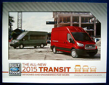 Prospekt brochure all-new 2015 Ford Transit Product Information Book (USA)