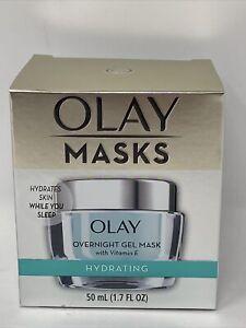 Olay Masks Hydrating Overnight Gel Mask Hydrates Skin While You Sleep 1.7 fl oz