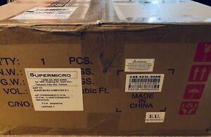 Supermicro SuperChassis 523L-505B 2U Black 500 W server chassis case
