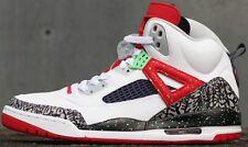 2015 Nike Air Jordan Spizike SZ 12 White Poison Green Cement Retro 315371-132