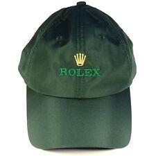 Rolex Luxury Green Cap Hat Very Rare 2018