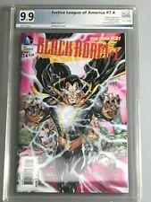 Justice League of America 7.4 -  PGX 9.9  - Black Adam 1 - 🌟 Amazing Cover 🌟