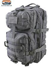Grey Hex Tac Reaper Molle 40 Litre Tactical Pack Assault Bag  Airsoft Militar