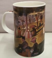 Dunoon Fine Bone China Mug Sunday Afternoon by Seurat Design Made in England