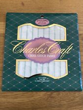 Waste Canvas Fabric for Cross Stitch 14 Count  Pkg Charles Craft