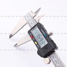 "200mm 8"" Electronic Digital LCD Caliper Vernier Gauge Micrometer Metal Housed"