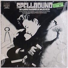 SPELLBOUND: Classic Film Music Miklos Rozsa USA RCA Vinyl LP Hitchcock
