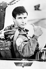 "Top Gun movie poster 24x36"" Tom Cruise in a Jet"