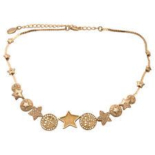 Pilgrim Silver & Yellow Stars necklace with SWAROVSKI crystals NWT Price .$14