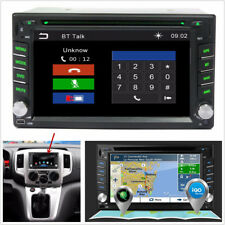 "6.2""HD Touch 2Din Car GPS Navigation Stereo DVD CD Player FM Radio Bluetooth+Map"