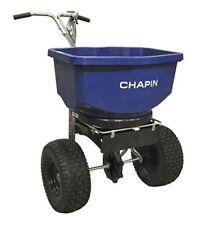 Chapin  Push  Spreader  For Salt/Ice Melt 100 lb.
