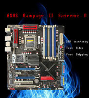 for ASUS Rampage II Extreme REV.2.01G Motherboard Intel X58 LGA1366 Tested