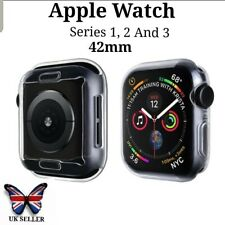 Apple Smart Watch Clear Screen protector Protective Case Face Cover S 123. 42mm