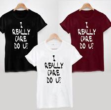 I Really Care, Do U? T-Shirt - Anti Trump Protest Resist Donald Melania Don't