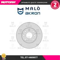 1110068 Coppia Disco freno ant Opel (MARCA MALO')