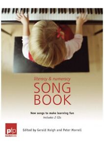 Literacy and Numeracy Songbook by Peter Morrell Paperback Book With 2 CDS New