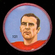 1963 CFL NALLEY'S POTATO CHIP FOOTBALL COIN 121 PETE MANNING CALGARY STAMPEDERS