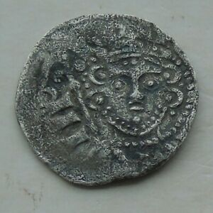 Hammered Silver Short Cross Penny of John with sceptre, 18mm 1.23g