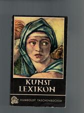Emerich Schaffran - Taschenlexikon der Kunst - 1953