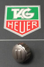 Tag Heuer Crown Sand Blasted Finish Diameter 7mm Original Genuine Swiss Made