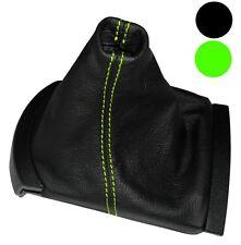 Funda para palanca de cambios Piel genuina para Seat Ibiza 6L 2002-2008, Verde