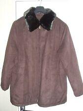Klass Fur trimmed jacket size 18