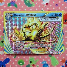 Omastar BREAK - Fates Collide 19/124 Ultra Rare Mint Holo Foil Pokemon Card