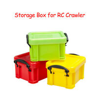 Mini Universal Plastic Storage Box Tool for 1:10 Scale RC Rock Crawler Accessory