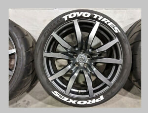 Toyo Tires Proxes Tire Lettering stickers
