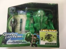Green Lantern Hal Jordan Figure with Transforming Battle Suit New Sealed HTF