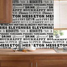 Superfresco Easy Paste the wall On The Menu Typography Black/White Wallpaper