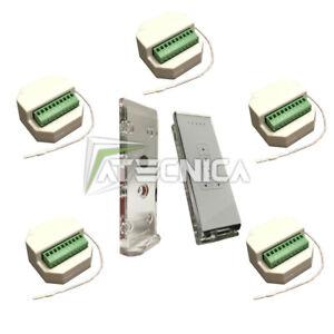 Kit automatisme de 5 volets roulants MX3 x5 + télécommande Murano 5 canaux