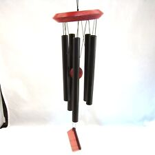 """Woodstock Encore Collection Chimes OF ORION Black Wind Chimes 14"""" NEW NWOB"""