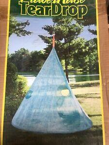 Hanging Tee Pee Indoor Outdoor Furniture Hammock Swing Bed Living Relaxation