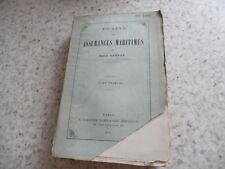 1879.Traité des assurances maritimes.T1.marine.Emile Cauvet