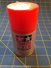 Tamiya PS-20 Fluorescent Red Polycarbonate Spray Can 3oz Paint #86020 MidAmerica