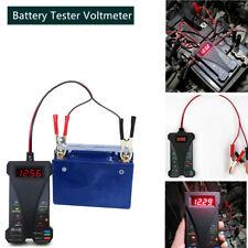 12V Battery Tester Voltmeter Charging System Analyzer Automotive & Motorcycle