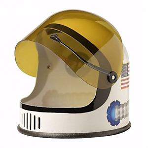 Aeromax White Youth Astronaut Helmet With Movable Visor