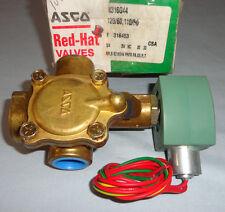 Asco 8316G44 Electric Solenoid Valve 3-Way 3/4