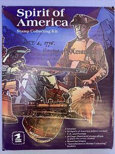 Stamp Collecting Kit Spirit of America Factory Sealed Z804