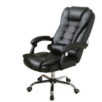 Racing Game Office Chair Ergonomic PU Leather Reclining Computer Desk COZY Chair