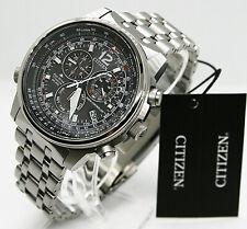 ✅ Citizen Eco Drive Uhr Herrenuhr Titan Datum Alarm silber CB5850-80E ✅