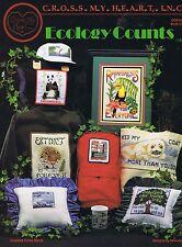 Los recuentos de ecología cross stitch chart-Cross My Heart Inc - 13 Diseños