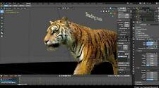 Blender 3D Graphics Design Animation Studio Pro Professional Software