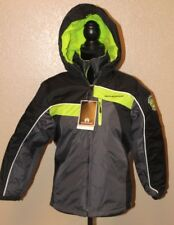 WEATHERPROOF WINTER JACKET SUPER WARM SIZE M 10/12 GREY/BLACK/LEMON MSRP $ 70.00