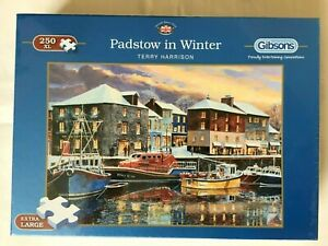 Padstow in Winter Gibsons Jigsaw 250 XL pieces. Brand New and sealed. Complete