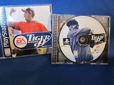 Sony PlayStation ps1 EA Sports Tigger Woods 99 PGA Tour Golf Video Game
