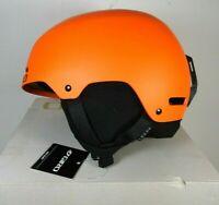 GIRO Ledge Adult Sz S Snow Sports Helmet Matte Orange w bad box